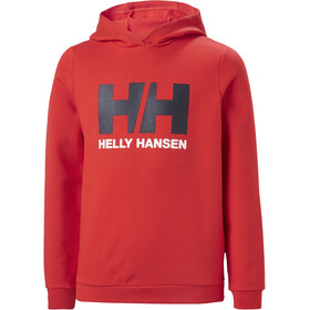 Helly Hansen HH Logo Hoodie Youth, alert red